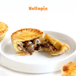 Steak and Cheese Pie isi 3 Pcs