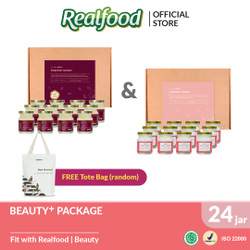 Beauty Package Free Exclusive Tote Bag Realfood