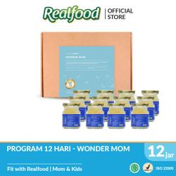 Realfood Wonder Mom Fully Concentrated Bird's Nest dengan Asam Folat