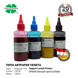 VENETA SYSTEM - ART PAPER INK FOR PRINT HEAD EPSON 100 ML