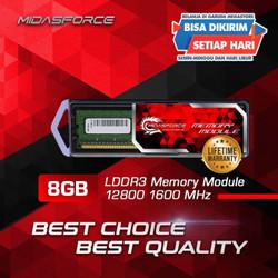 RAM 8GB DDR3 PC 12800 DDR3 1600 MIDASFORCE RAM LDDR3
