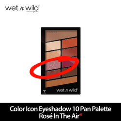 Wet N Wild Color Icon Eyeshadow 10 Pan Palette Rose In The Air REJECT