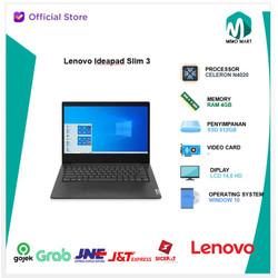 Lenovo Ideapad Slim 3i 14 N4020 4GB 512ssd W10+OHS 14.0 HD