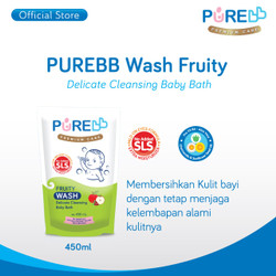 Pure BB Wash Fruity Refill 450ml