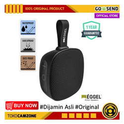 Eggel Fit 2 Waterproof Action Portable Bluetooth Speaker with FM Radio