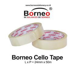 Borneo Cello Tape / Selotip 24 mm x 50 m