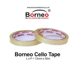 Borneo Cello Tape / Selotip 12 mm x 50 m