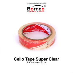 Borneo Cello Tape / Selotip Super Clear 24 mm x 72 y