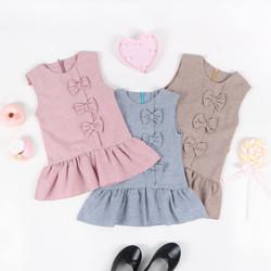 Dress anak perempuan, baju anak kode LE2001