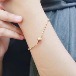 Gelang Tangan Rantai Wanita Lapis Emas Missi Fashion Jewelry