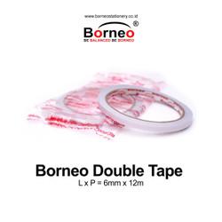 Borneo Double Tape 6 mm x 12 m