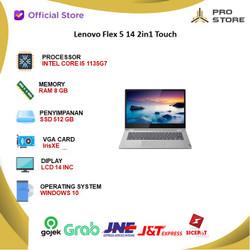 Lenovo Flex 5 14 2in1 Touch i5 1135G7 8GB 512ssd IrisXE W10+OHS 14FHd