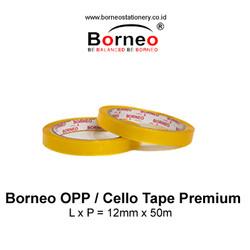 Borneo Cello Tape / Selotip Premium 12 mm x 50 m