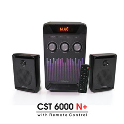Speaker Bluetooth Simbadda CST 6000N+ Subwoofer Bass Power LED Display