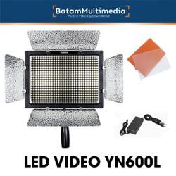 LED Video Lighting YN600L + Adapter Power