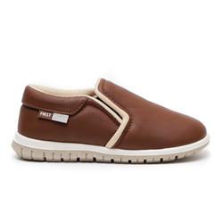 First Light K21 Brown Sepatu Anak Balita Gratis Kaos Kaki