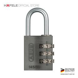 Abus Combination Lock 145/30 - Gembok Tas Koper Berkualitas - Silver
