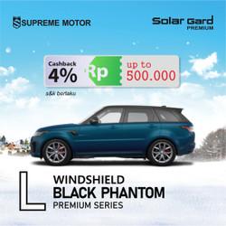 Kaca Film Depan Solar Gard Premium Black Phantom Large Car