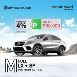 Kaca Film Full Solar Gard Premium LX Series+Black Phantom Medium Car