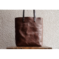 Leather Work Tote Fox