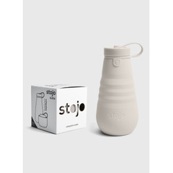 The Fall Collection Stojo Collapsible Bottle - 20oz Oat