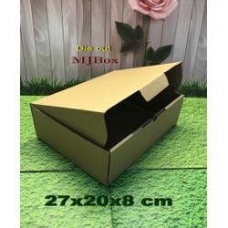 Kardus karton uk. 27x20x8 cm...die cut box kotak Souvenir -dll