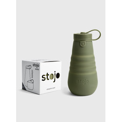 The Fall Collection Stojo Collapsible Bottle - 20oz Moss