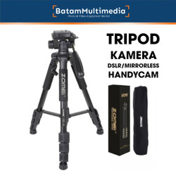 Tripod Kamera DSLR Mirrorless Smartphone Zomei Q111 - Kokoh Kuat
