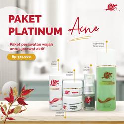 Paket acne platinum
