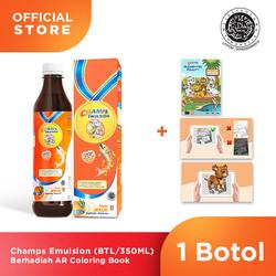Champs Emulsion 350ML Berhadiah AR Coloring Book ( 1Botol )