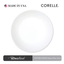 CORELLE Winter White Dinner Plate 26 cm