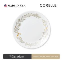CORELLE SILVER CROWN Dinner Plate 26cm