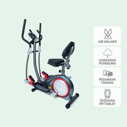 Sepeda Olahraga Kardiovaskular Jaco Elliptical Bike JC-2288A