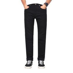 Pants Denim Full Black 001