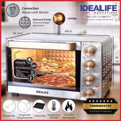 IDEALIFE - Oven – Pemanggang - 35L - IL–335