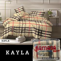 Bed cover set Disperse Ukuran 180X200 Namasa Bedsheet Tidak Luntur