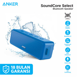 Anker SoundCore Select Bluetooth Speaker blue A3106