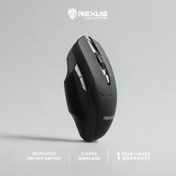 Rexus Mouse Wireless Gaming Xierra 109