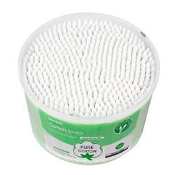 MINISO Cotton Swab dengan Batang Kayu, 500CT
