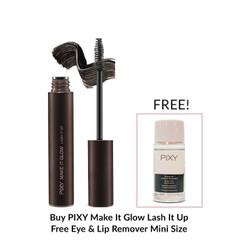 PIXY Lash It Up Free Eye & Lip Remover Mini Size - Make It Glow