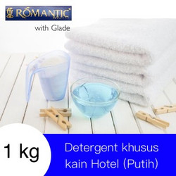 Laundry Deterjen Hotel Bubuk by ROMANTIC Detergent putih noda kain