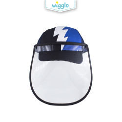 Wigglo Flashy Thunder Cap With Face Shield