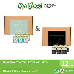 Realfood Trial Royal Wellness dan Trial Stay Fit