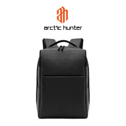 "ARCTIC HUNTER 1701 Backpack Bag USB 15.6"" - Tas Ransel Laptop BLACK"