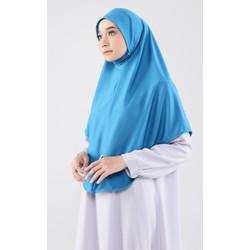 Cyra Hijab Mask 01 Blue Toska