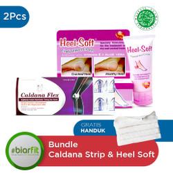 Buy Heel - Soft 50 gr Cream & Caldana Flex Strip - Free Handuk