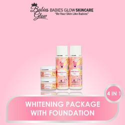 Paket Whitening with Foundation