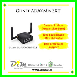 Wireless Router GL.Inet - GL-AR300M 16 EXT OpenWRT GL INET Wifi