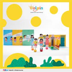 Satu Set Paket Dolpin (Diorama BW)