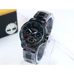 jam tangan wanita analog bonia stainless / jam cewek elegan
